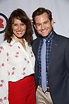 Emily Swallow and Chad Kimball attends the Opening Night Party for Red Bull Theater's All-Female MAC BETH at Houston Hall on May 19, 2019 in New York City.