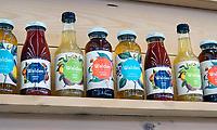 Nederland - Amsterdam -  2020. HORECAVA beurs. Stand van Jetdrinks. Walden. Organic juices and iced tea. Foto Berlinda van Dam / Hollandse Hoogte