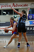The Central Coast Crusaders play Sutherland Sharks in Round 8 of the Womens Waratah League at Breakers Stadium on 29th of August, 2020 in Terrigal, NSW Australia. (Photo by James Quigley/LookPro)