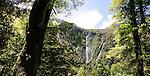 Humboldt Falls, Fiordland, New Zealand