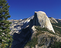 Half Dome, seen from near Glacier Point, Yosemite National Park, California, US