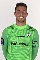 14th October 2020, Montpellier, France; Official League 1 player portraits for Montpellier FC;  30. CARVALHO Matis