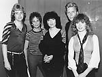 HEART 1983 Howard Leese,Danny Carmassi, Ann Wilson,Mark Andes, Nancy Wilson,.