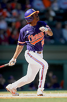 Chris Epps (Center Fielder) Clemson Tigers (Photo by Tony Farlow/Four Seam Images)