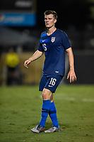 Miami, FL - Tuesday, October 15, 2019:  Chris Durkin #16 during a friendly match between the USMNT U-23 and El Salvador at FIU Soccer Stadium.
