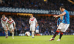 Lee McCulloch scores the penalty spot