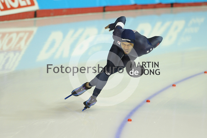 SPEEDSKATING: CALGARY: Olympic Oval, 03-12-2017, ISU World Cup, 1500m Men, Division A, Shani Davis (USA), ©photo Martin de Jong