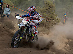 Chile's Alvaro Gallegos during the second day World trophy class of the FIM international six days of enduro 2016 in Navarra, Spain. October 11, 2016. (ALTERPHOTOS/Rodrigo Jimenez)
