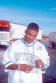 NELLY-MUSIC VIDEO-_RIDE WIT ME_-4 ACES CAFE-PALMDALE, CA.-FEBRUARY 2, 2001<br /> Photo Credit: JEFFREY MAYER:AtlasIcons.com