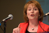 Labour Party Chair Hazel Blears MP, speaks at a Fabian Society hustings meeting for candidates for the deputy leadership of the Labour Party.