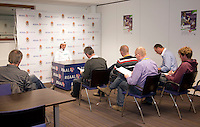 15-12-10, Tennis, Rotterdam, Reaal Tennis Masters 2010,   Jannick Lupescu in de perskamer