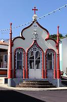 Heiliggeisttempel (Imperio)  in Topo auf der Insel Sao Jorge, Azoren, Portugal