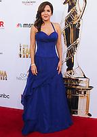 PASADENA, CA, USA - OCTOBER 10: Maria Canals Barrera arrives at the 2014 NCLR ALMA Awards held at the Pasadena Civic Auditorium on October 10, 2014 in Pasadena, California, United States. (Photo by Celebrity Monitor)