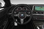 Car pictures of steering wheel view of a 2017 BMW M6 - 2 Door Convertible Steering Wheel