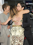 Drew Barrymore & Justin Long & Justin's mom at the Warner Bros. Pictures' L.A. Premiere of Going the Distance held at The Grauman's Chinese Theatre in Hollywood, California on August 23,2010                                                                               © 2010 Hollywood Press Agency