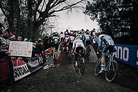 """""""Say YES Angie!""""<br /> <br /> Elite Men's race<br /> UCI CX World Cup Namur / Belgium 2017"""