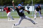 NELSON, NEW ZEALAND - OCTOBER 22: Fast Pitch Softball Saxton Diamond on October 22 2016 in Nelson, New Zealand. (Photo by: Evan Barnes Shuttersport Limited)