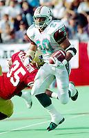 Troy Mills San Antonio Texans 1995. Photo F. Scott Grant