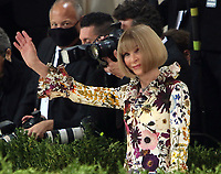 September 13, 2021.Anna Wintour attend The 2021 Met Gala Celebrating In America: A Lexicon Of Fashion at<br /> Metropolitan Museum of Art  in New York September 13, 2021 Credit:RW/MediaPunch