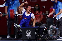26th August 2021; Tokyo, Japan; Van Cong Le (VIE), Powerlifting : <br /> Men's 49kg Final during the Tokyo 2020 Paralympic Games at the Tokyo International Forum in Tokyo, Japan.