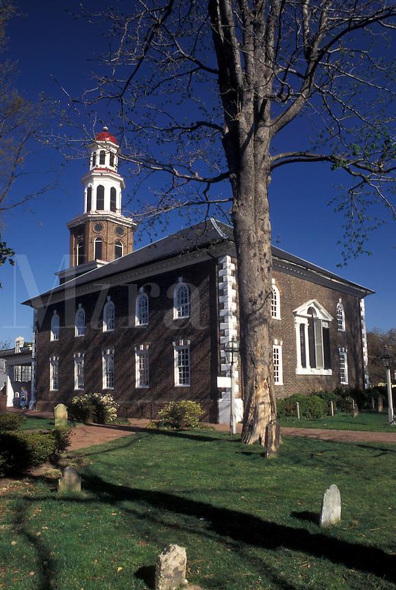 Alexandria, VA, Virginia, First Church of Alexandria.