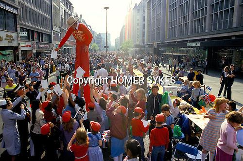 Silver Jubilee celebrations, London 1977.Uk