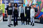 Emilio Aragon, Ara Malikian, Hernan Zin and Carlos Vega attends to 'Lucha de gigantes' project presentation at Teatro Real in Madrid, Spain. September 10, 2018. (ALTERPHOTOS/A. Perez Meca)