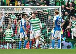 Celtic v St Johnstone …26.08.17… Celtic Park… SPFL<br />Callum McGregor celebrates his goal<br />Picture by Graeme Hart.<br />Copyright Perthshire Picture Agency<br />Tel: 01738 623350  Mobile: 07990 594431