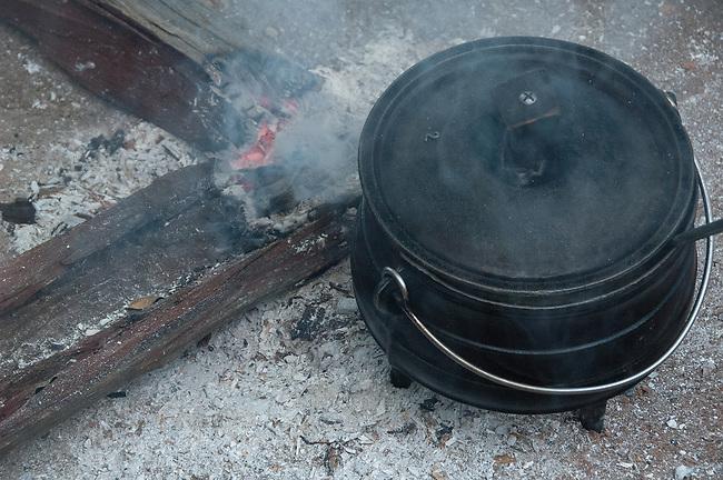 Breakfast Porridge in the Pot