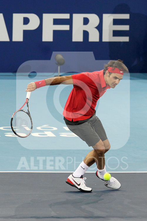 221210.MC.Partido Rafa Nadal-Roger Federer Unidos por la Infancia..221210. Caja Magica.Madrid..