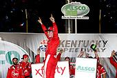 #20: Christopher Bell, Joe Gibbs Racing, Toyota Camry Rheem celebrates