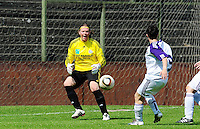 RSC Anderlecht Dames - Standard Femina : Standard kampioen 2010 - 2011 : Tania Vandenhouwe.foto DAVID CATRY / Vrouwenteam / Loft6