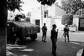 Culiacan, Mexico<br /> June 12, 2007<br /> <br /> What Medellin is to Colombia's narcotraffickers, Sinoloa is to the drug lords of Mexico. The Mexican military patrol the streets of Culiacan, the home of many drug king pins and the site of over 300 drug related murders this year.