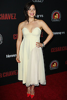 """HOLLYWOOD, LOS ANGELES, CA, USA - MARCH 20: America Ferrera at the Los Angeles Premiere Of Pantelion Films And Participant Media's """"Cesar Chavez"""" held at TCL Chinese Theatre on March 20, 2014 in Hollywood, Los Angeles, California, United States. (Photo by Celebrity Monitor)"""