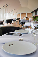 Europe/France/Midi-Pyrénées/12/Aveyron/Aubrac/ Laguiole: Hôtel-Restaurant Bras - la salle du restaurant