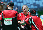 Alison Levine, Rio 2016 - Boccia.<br /> Alison Levine competes in the mixed boccia event against Brazil // Alison Levine participe à l'épreuve de boccia mixte contre le Brésil. 09/09/2016.