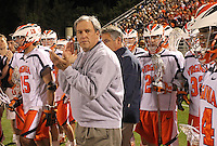 Virginia lost to Duke 13-9 during a lacrosse game held Saturday April 17. 2010 in Charlottesville, VA. (Photo/Andrew Shurtleff)
