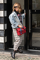 London, UK- 11 September 2020<br /> Myleene Klass arriving at Global Radio Studios, London, UK<br /> CAP/JOR<br /> ©JOR/Capital Pictures