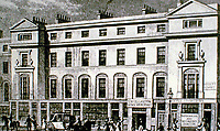 121-131 REGENT STREET West Side. Vigo Street - Heddon Street. SHEPHERD 1828.<br />
