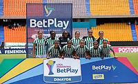 MEDELLÍN- COLOMBIA, 29-08-2021: Atlético Nacional y Atlético Bucaramanga en partido por la fecha 10 como parte de la Liga Femenina BetPlay DIMAYOR 2020 jugado en el estadio Atanasio Girardot de Medellín/ Atletico Nacional and Atlético Bucaramanga in match for the date 10 as part of Women's BetPlay DIMAYOR 2021 League, played at Atanasio Girardot stadium of Medellin City. Photo: VizzorImage / Donaldo Zuluaga / Contribuidor