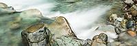 Wild river near Haast, West Coast, South Westland, UNESCO World Heritage Area, New Zealand, NZ