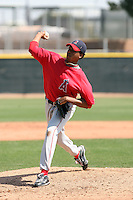 Fabio Martinez, Los Angeles Angels 2010 minor league spring training..Photo by:  Bill Mitchell/Four Seam Images.