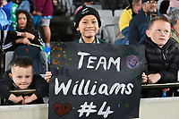 22nd May 2021; Eden Park, Auckland New Zealand; All Blacks Sevens versus Australia, Trans-Tasman Sevens;  New Zealand Sevens fans.