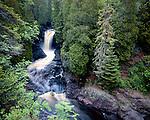 Lower Falls of the Cascade River, Cascade River State Park, Minnesota, June, 1987