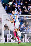 Player of CD Leganes during La Liga match between CD Leganes and Deportivo Alaves at Butarque Stadium in Leganes, Spain. February 29, 2020. (ALTERPHOTOS/A. Perez Meca)