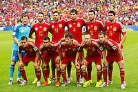 Spain team photo