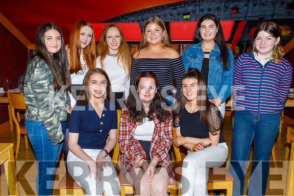 Jennifer Brosnan from Tralee celebrating her 15th birthday in Ristorante Uno on Saturday.<br /> Seated l to r: Caoilinn Hickey, Jennifer Brosnan and Ava Jane Fitzgerald.<br /> Back l to r: Elenor Murphy, Eve Hennessy, Olivia Dillon, Rosie Giles, Ailisha Dalton and Kate Feeney
