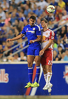 Harrison, NJ. - Wednesday, July 22, 2015: The New York Red Bulls  defeated Chelsea 4-2 in an International Champions Cup match at Red Bull Arena.