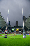 General view during the Cathay Pacific / HSBC Hong Kong Sevens at the Hong Kong Stadium on 29 March 2014 in Hong Kong, China. Photo by Victor Fraile / Power Sport Images