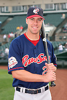 Pawtucket Red Sox David Murphy during an International League game at Frontier Field on July 4, 2006 in Rochester, New York.  (Mike Janes/Four Seam Images)